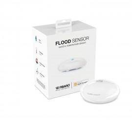 Poze Senzor de inundatie FIBARO compatibil Apple HomeKit