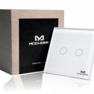 MCO Home Glass Touch Switch (2 Buttons), British Standard MH-S312