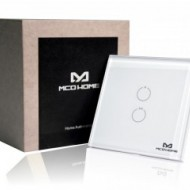 MCO Home Glass Touch Switch (2 Buttons) MH-S412