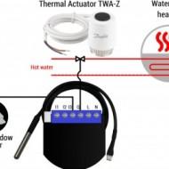 Qubino PWM Thermostat | ZMNHLD1
