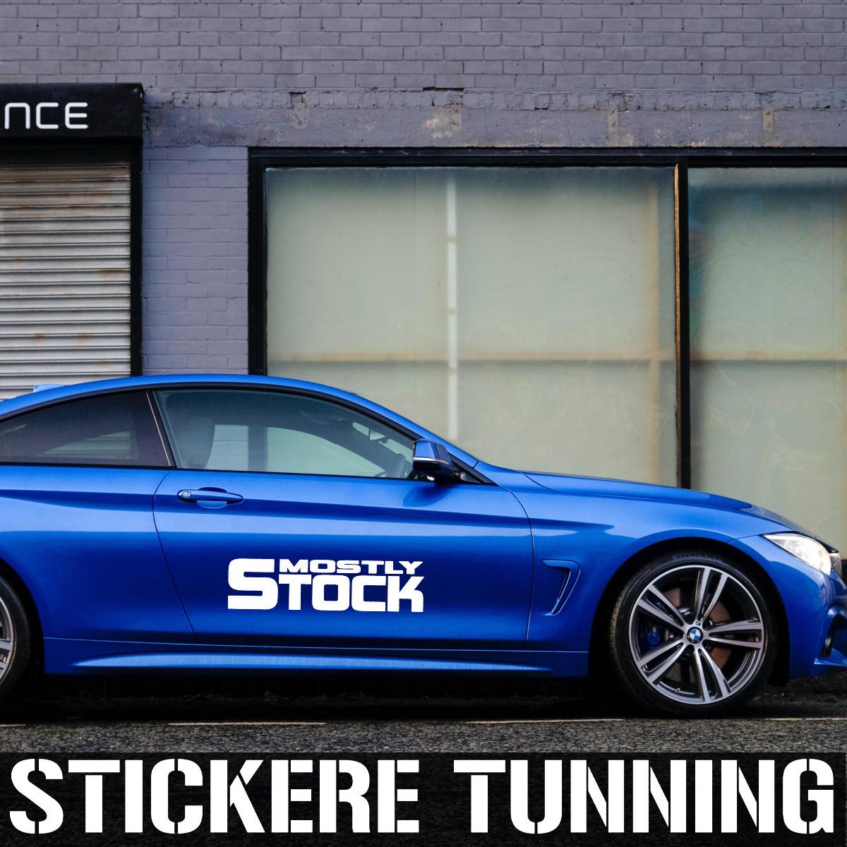Stickere si abtibilduri auto tunning