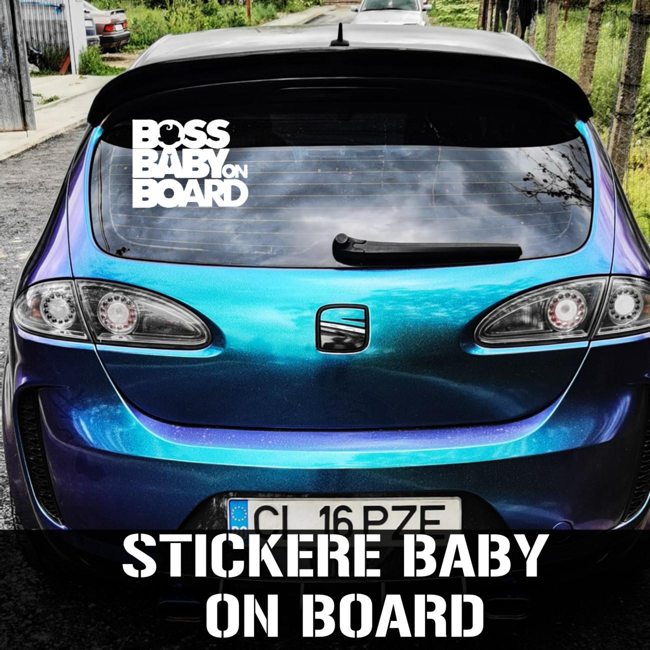 Stickere si abtibilduri baby on board