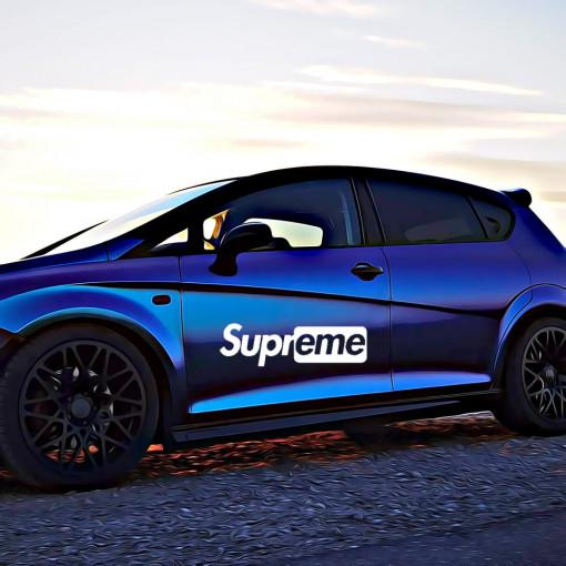 Sticker Auto Supreme