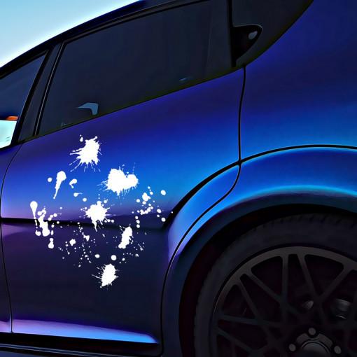 Set stickere auto Splash