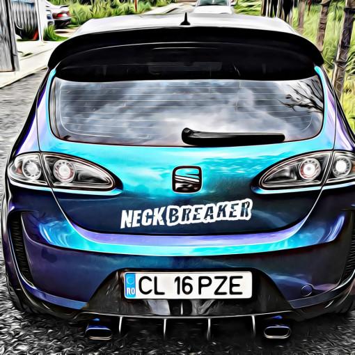 Sticker Auto Neck Breaker