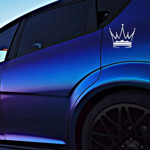 Sticker Auto Crown
