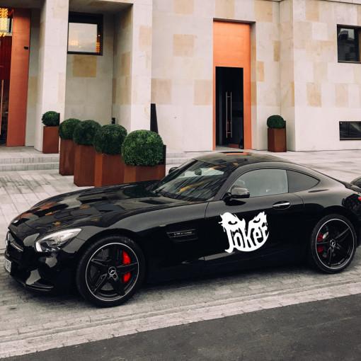 Sticker auto Joker