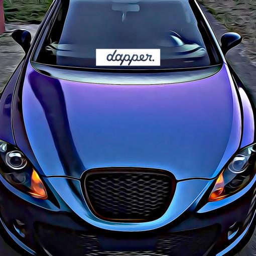 Sticker Auto Dapper