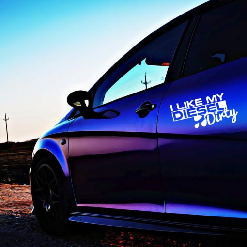 Sticker Auto Like my Diesel