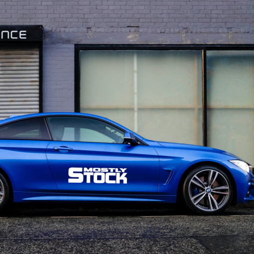 Sticker Auto Mostly Stock