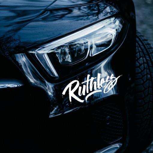 sticker auto ruthless