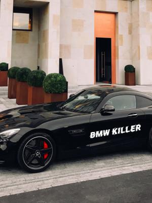 Sticker auto BMW KILLER 3