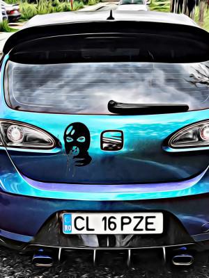 Sticker Auto Cagula 2
