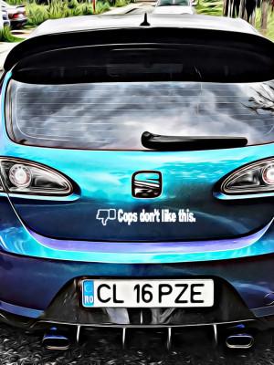 Sticker Auto Cops