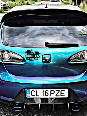 Sticker Auto Little Monsters