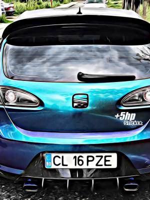 Sticker Auto +5HP