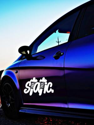 Sticker Auto Static