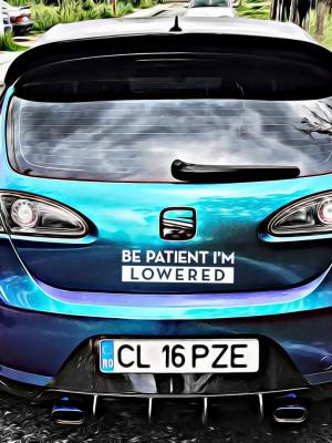 Sticker Auto Be Patient