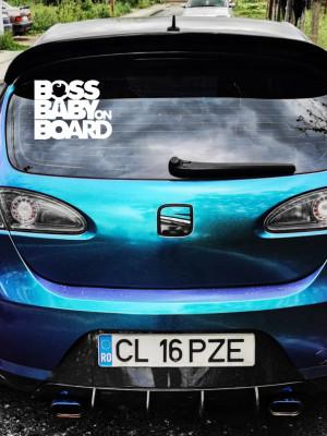 Sticker auto Boss Baby
