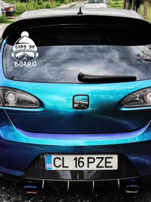 Sticker auto Mountain Baby