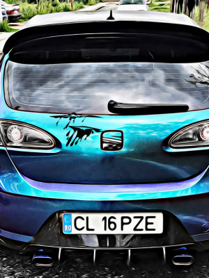 Sticker Auto Wound