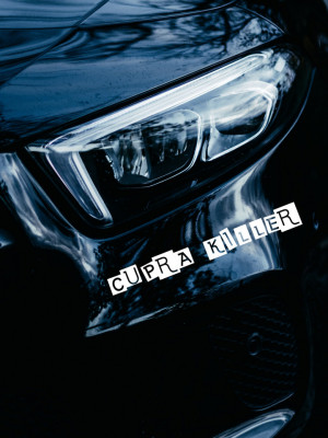 Sticker auto Cupra Killer