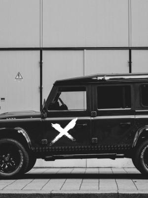 Sticker auto X 2