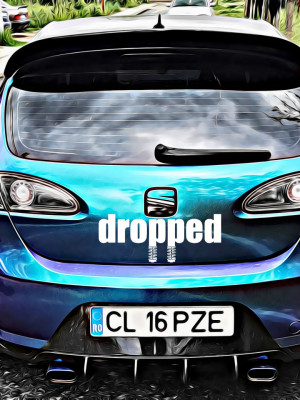 Sticker Auto Dropped