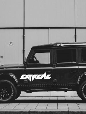 Sticker auto Extreme