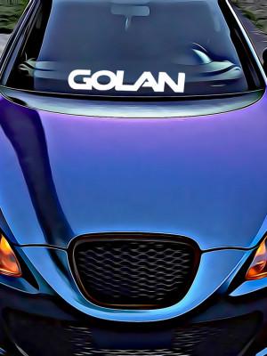Sticker Auto Golan