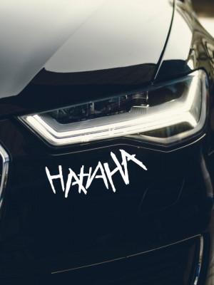 Sticker auto HAHAHA