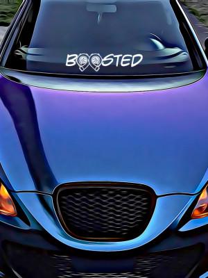 Sticker Auto Boosted