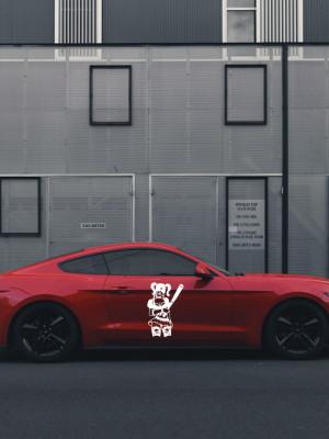 Sticker auto Harley Quinn 4