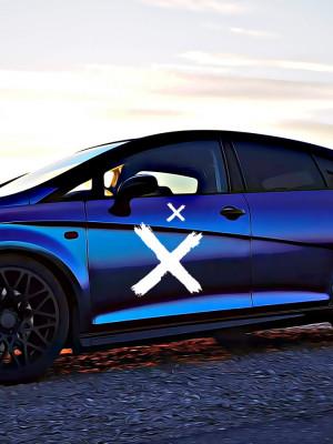 Sticker Auto X