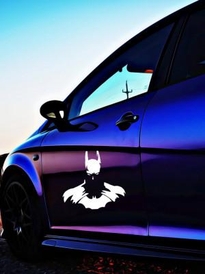 Sticker Auto Batman