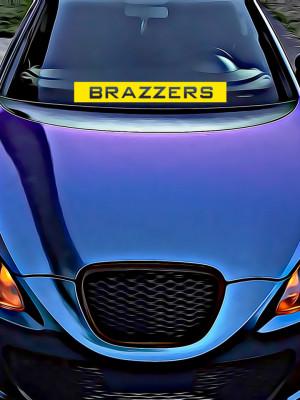 Sticker Auto Brazzers