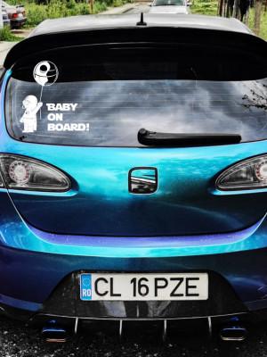 Sticker auto Baby on Board 3