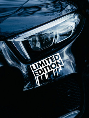 Sticker auto Limited Edition 3