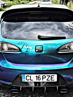Sticker Auto Speed