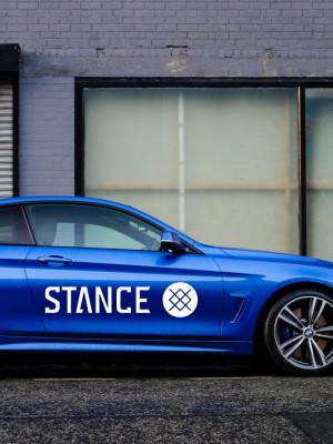 Sticker Auto Stance