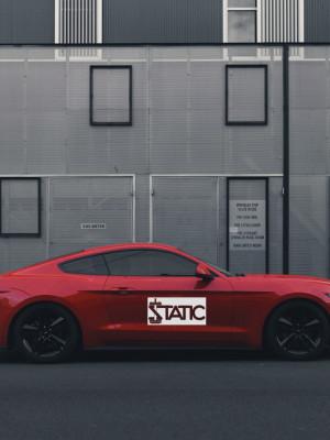 Sticker auto STATIC 2