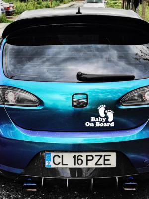 Sticker auto Baby on Board 4