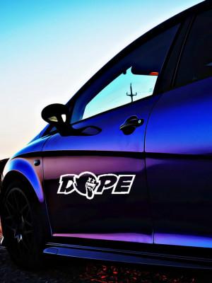 Sticker Auto Dope