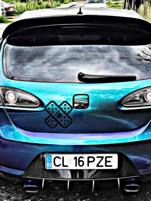 Sticker Auto Plasture