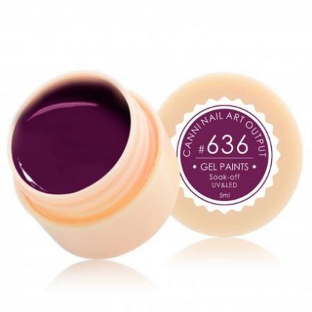 Gel color CANNI 5ml 636