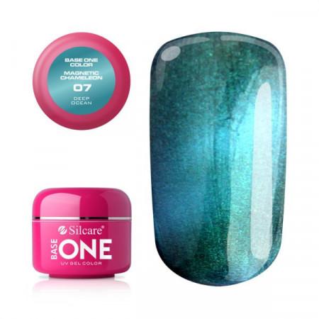 Gel UV Color Base One Silcare Magnetic Chameleon 07