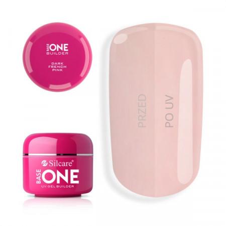 Gel UV de Constructie Base One Dark French Pink 15gr