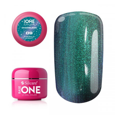 Gel UV Color Base One 5g Cameleon Emeral Night 09
