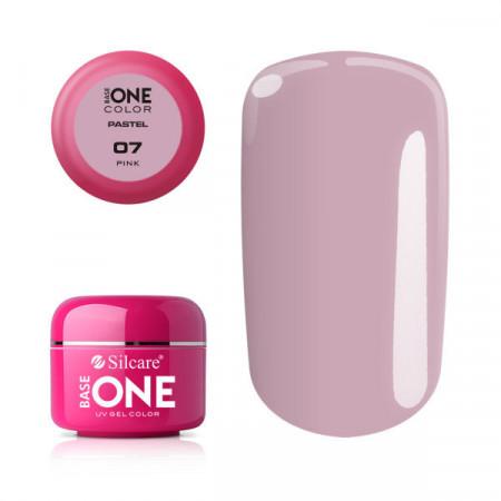 Gel UV Color Base One 5g Pastel 07 Pink