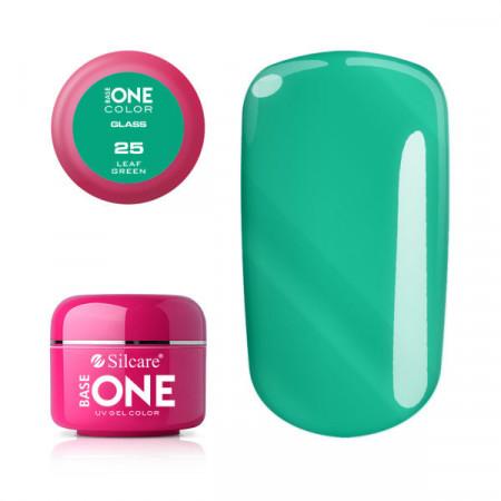 Gel uv Color Base One Silcare Glass Leaf Green 25